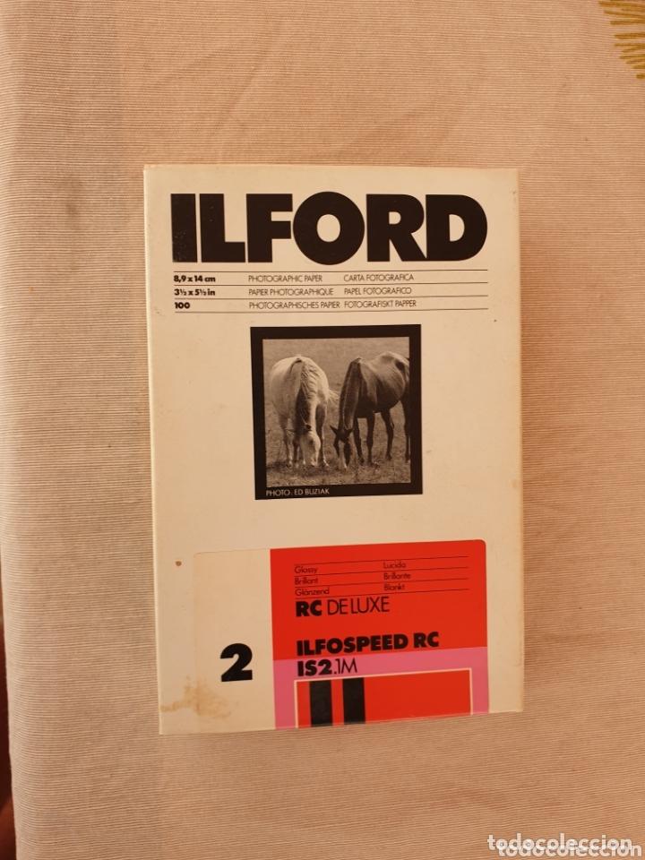 PAPEL FOTOGRAFICO ILFORD (Cámaras Fotográficas - Otras)