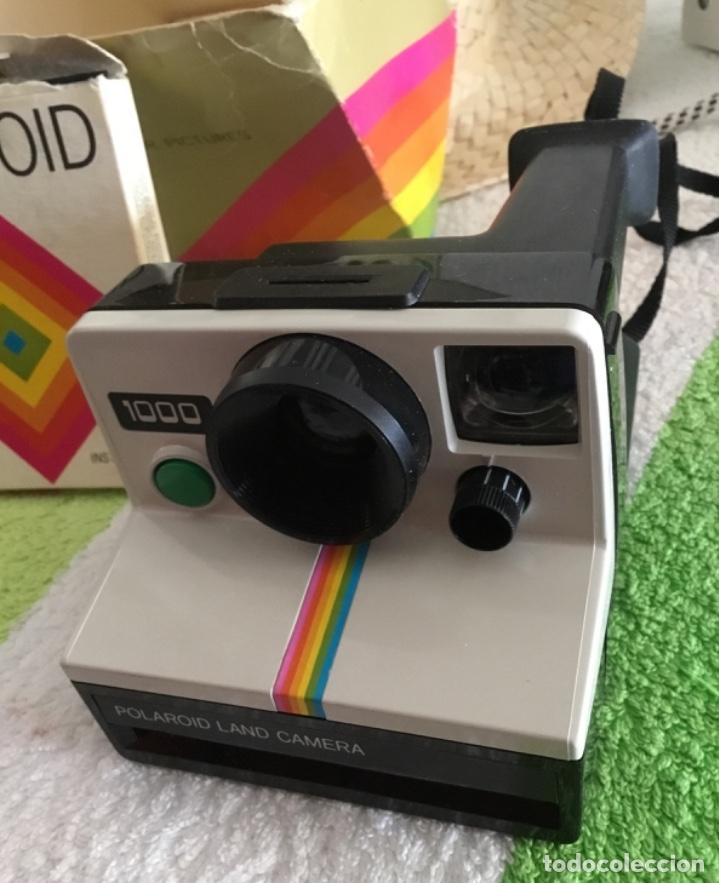Cámara de fotos: Cámara polaroid con pelicula y caja y corcho - Foto 4 - 172939592