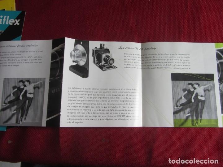 Cámara de fotos: PUBLICIDAD VISOR UNIVERSAL LINHOF AÑOS 50-60 - Foto 2 - 172951945