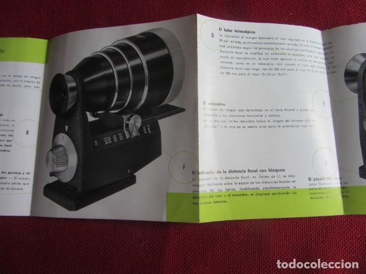 Cámara de fotos: PUBLICIDAD VISOR UNIVERSAL LINHOF AÑOS 50-60 - Foto 3 - 172951945