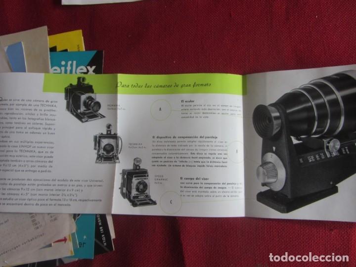 Cámara de fotos: PUBLICIDAD VISOR UNIVERSAL LINHOF AÑOS 50-60 - Foto 4 - 172951945