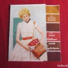 Cámara de fotos: PUBLICIDAD AKO. TRIPTICO BOLSAS PARA CAMARAS. EN ALEMAN. AÑOS 50-60. Lote 173012622