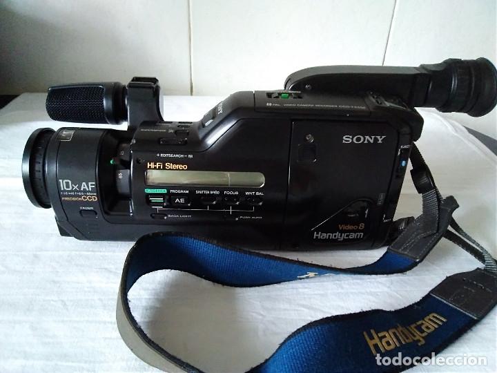 Cámara de fotos: 2-VIDEOCAMARA SONI CCD-F555-E, sin comprobar - Foto 2 - 173061534