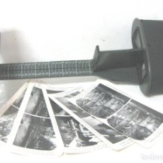 Cámara de fotos: 336--ANTIGUO VISOR ESTEREOSCÓPIO PARA FOTOS EN RELIEVE-SIGLO XIX--NO ES REPRODUCCIÓN-. Lote 173086028