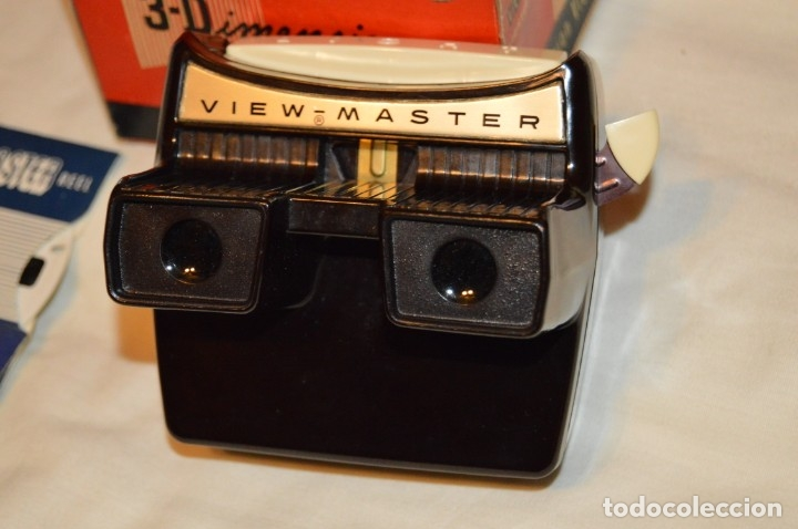 Cámara de fotos: NOS! VISOR SAWYER'S VIEW MASTER - LIGHTED STEREO VIEWER - INCLUYE 5 SETS DIAPOSITIVAS - ¡Mira NUEVO! - Foto 2 - 173241193