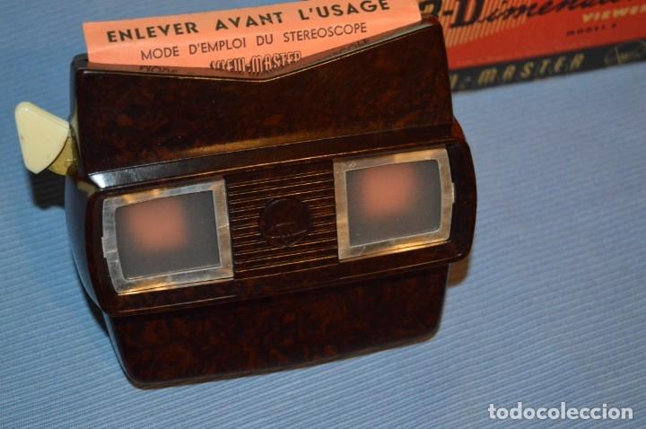 Cámara de fotos: VINTAGE - VIEW MASTER - 3 DIMENSIONES - VIEWER MODELO E - En su CAJA - PERFECTO - COMO NUEVO - Foto 4 - 173253540