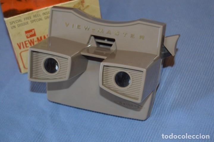 Cámara de fotos: VINTAGE - VIEW MASTER - 3 DIMENSIONES - VIEWER MODELO G - En su CAJA - PERFECTO - COMO NUEVO - Foto 5 - 173385947