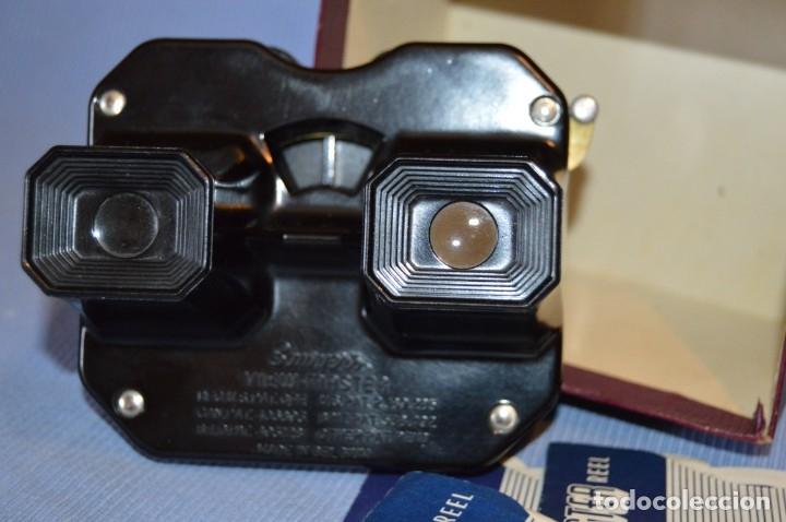 Cámara de fotos: VINTAGE - VIEW MASTER - 3 DIMENSIONES - De los primeros modelos - bakelita - PERFECTO - COMO NUEVO - Foto 5 - 173388385