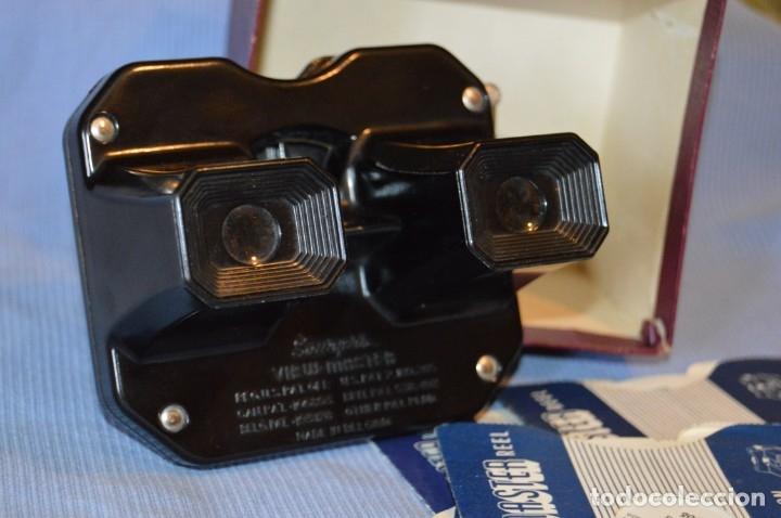 Cámara de fotos: VINTAGE - VIEW MASTER - 3 DIMENSIONES - De los primeros modelos - bakelita - PERFECTO - COMO NUEVO - Foto 6 - 173388385