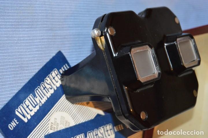 Cámara de fotos: VINTAGE - VIEW MASTER - 3 DIMENSIONES - De los primeros modelos - bakelita - PERFECTO - COMO NUEVO - Foto 8 - 173388385