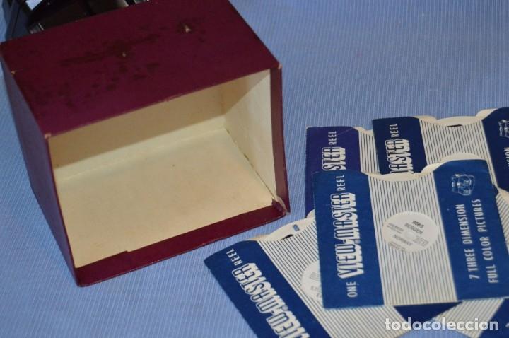 Cámara de fotos: VINTAGE - VIEW MASTER - 3 DIMENSIONES - De los primeros modelos - bakelita - PERFECTO - COMO NUEVO - Foto 9 - 173388385
