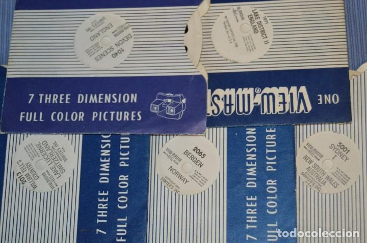 Cámara de fotos: VINTAGE - VIEW MASTER - 3 DIMENSIONES - De los primeros modelos - bakelita - PERFECTO - COMO NUEVO - Foto 10 - 173388385
