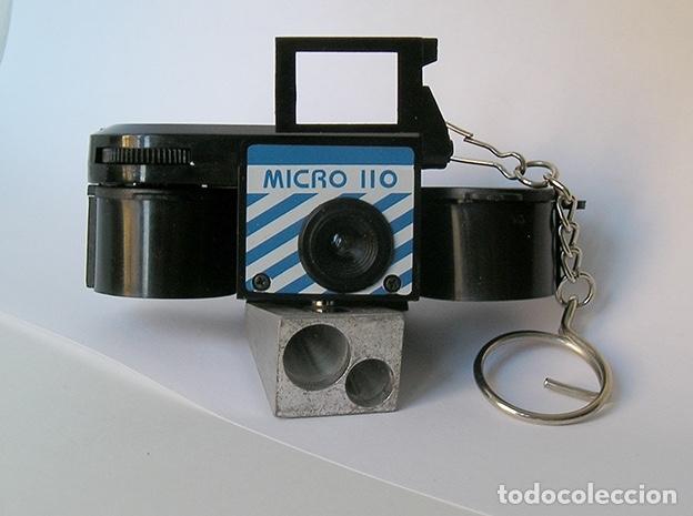 MICRO 110, CÁMARA ANALÓGICA MINIATURA (Cámaras Fotográficas - Otras)