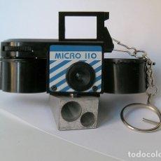 Cámara de fotos: MICRO 110, CÁMARA ANALÓGICA MINIATURA. Lote 173592507