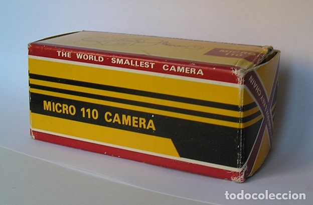 Cámara de fotos: Micro 110, cámara analógica miniatura - Foto 3 - 173592507