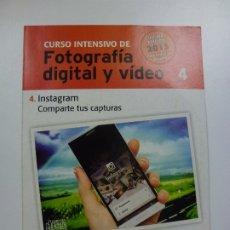 Cámara de fotos: CURSO INTENSIVO DE FOTOGRAFÍA DIGITAL Y VÍDEO 4. 2013. EL MUNDO. . Lote 173636124