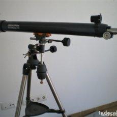 Cámara de fotos: TELESCOPIO CELESTRON COMO NUEVO ASTRO MASTER 70 EQ. Lote 173857617