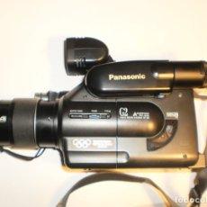 Cámara de fotos: CÁMARA DE VÍDEO PANASONIC G2 VHS-C PAL 26 CM LONGITUD (CON COMPLEMENTOS Y FUNDA, LEER). Lote 173930902