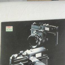 Cámara de fotos: ANTIGUO FOLLETO.CAMARA FOTOGRAFICA.FUJICA GL690 GM670.JAPAN.TEXTO EN ESPAÑOL.. Lote 174468554