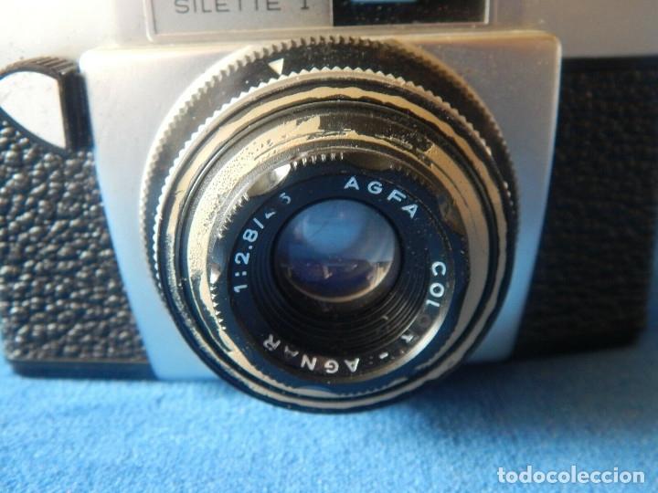 Cámara de fotos: antigua camara agfa silette 1 - Foto 2 - 175501259