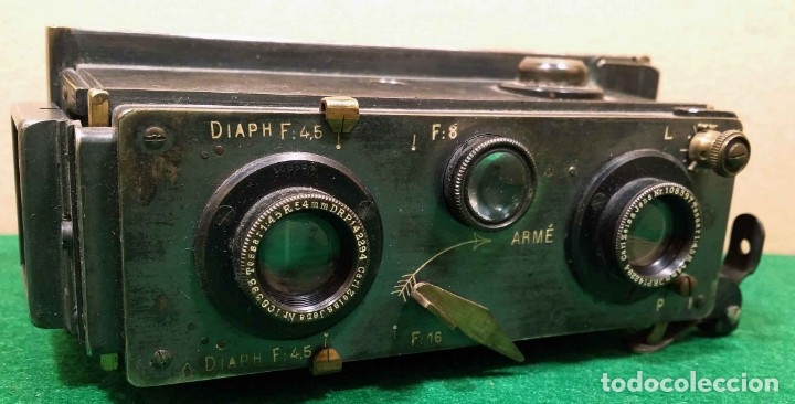 CAMARA VERASCOPE C1930 (Cámaras Fotográficas - Visores Estereoscópicos)