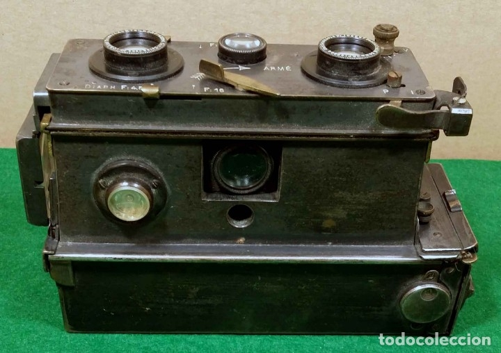 Cámara de fotos: CAMARA VERASCOPE c1930 - Foto 4 - 175562668