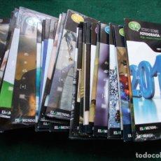 Cámara de fotos: TODO SOBRE FOTOGRAFIA Y VIDEO DIGITAL COMPLETO 49 CD EL MUNDO. Lote 175750090