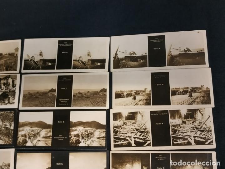 Cámara de fotos: VISOR ESTEREOSCOPICO + 42 IMAGENES / VISTAS, MUCHAS DE ELLAS DE LA 1ª GUERRA MUNDIAL - Foto 6 - 175783137