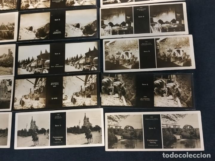 Cámara de fotos: VISOR ESTEREOSCOPICO + 42 IMAGENES / VISTAS, MUCHAS DE ELLAS DE LA 1ª GUERRA MUNDIAL - Foto 7 - 175783137