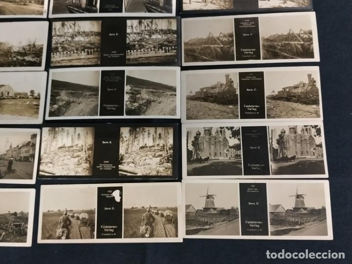 Cámara de fotos: VISOR ESTEREOSCOPICO + 42 IMAGENES / VISTAS, MUCHAS DE ELLAS DE LA 1ª GUERRA MUNDIAL - Foto 9 - 175783137