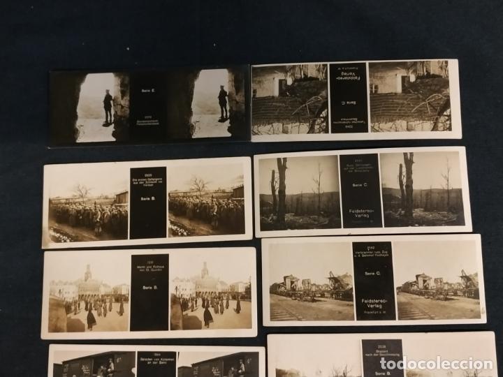 Cámara de fotos: VISOR ESTEREOSCOPICO + 42 IMAGENES / VISTAS, MUCHAS DE ELLAS DE LA 1ª GUERRA MUNDIAL - Foto 10 - 175783137