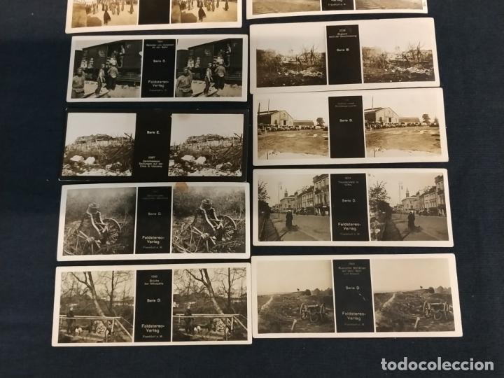 Cámara de fotos: VISOR ESTEREOSCOPICO + 42 IMAGENES / VISTAS, MUCHAS DE ELLAS DE LA 1ª GUERRA MUNDIAL - Foto 11 - 175783137