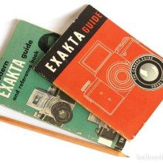 Cámara de fotos: *1946 Y 1953* • GUÍAS DE USO EXAKTA • FOCAL PRESS (B, A Y KINE) / MODERN CAMERA GUIDE (V Y VX). Lote 175812007