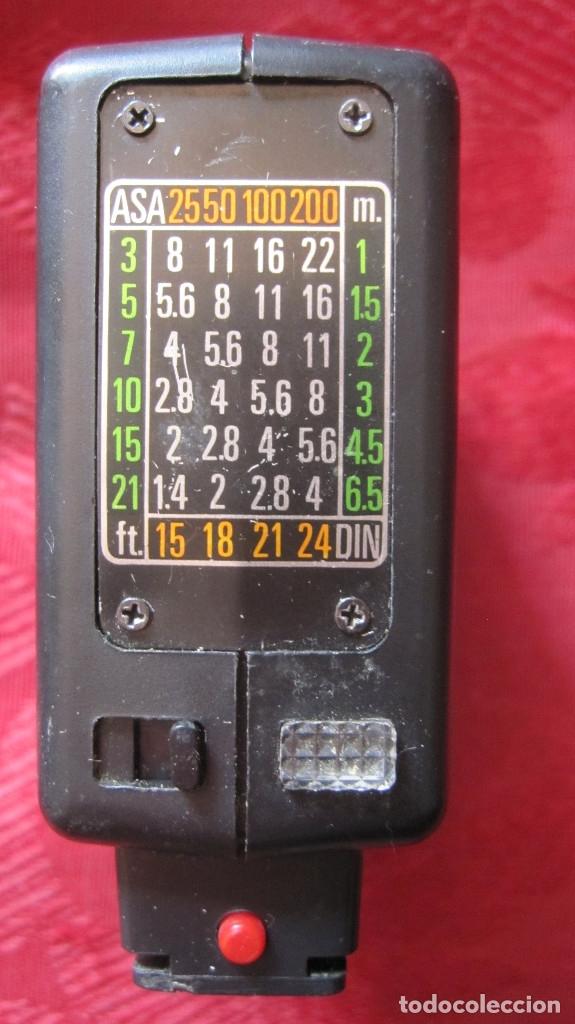 Cámara de fotos: ANTIGUO FLAS A PILAS RECTANGULAR - Foto 2 - 176107367