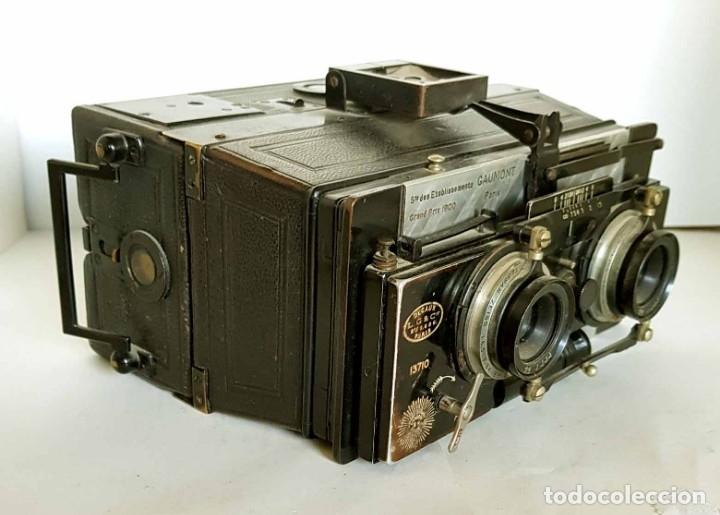 Cámara de fotos: CAMARA GAUMONT SPIDO ESTEREOSCOPICA - Foto 3 - 176187829