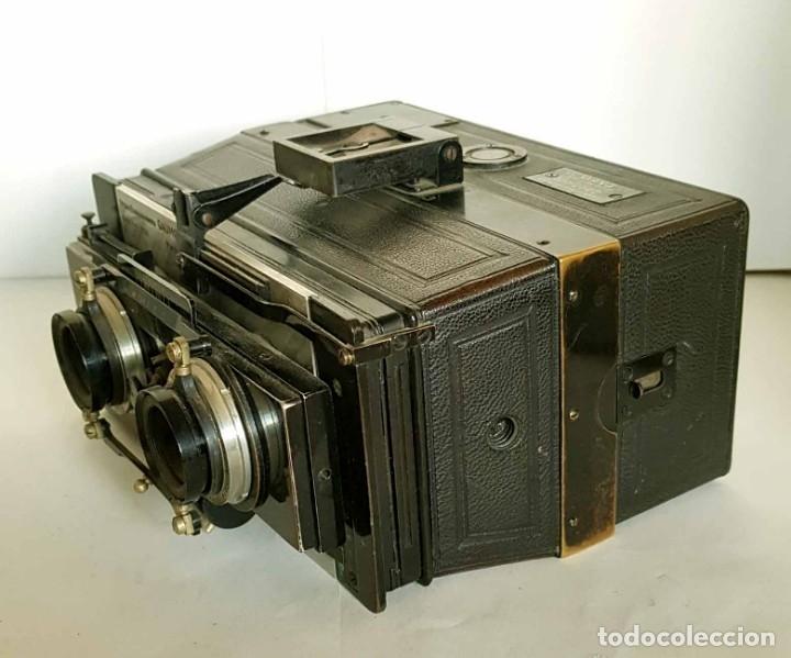 Cámara de fotos: CAMARA GAUMONT SPIDO ESTEREOSCOPICA - Foto 4 - 176187829