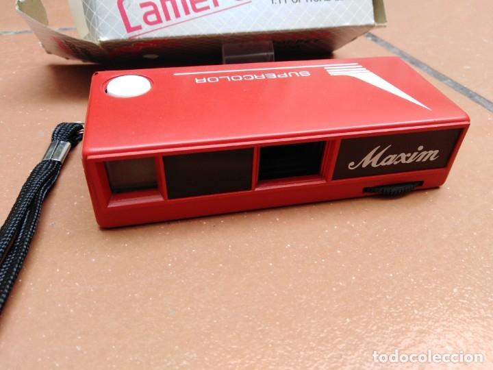 Cámara de fotos: camara maxim 110 pocket - f:11 optical lens - Foto 2 - 176196909