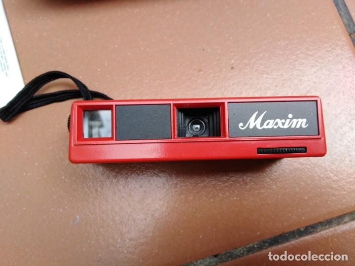 Cámara de fotos: camara maxim 110 pocket - f:11 optical lens - Foto 4 - 176196909