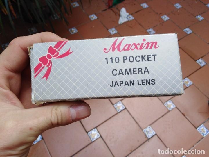 Cámara de fotos: camara maxim 110 pocket - f:11 optical lens - Foto 7 - 176196909