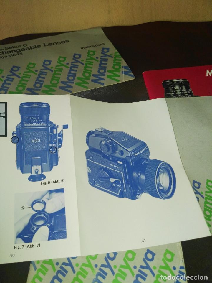Cámara de fotos: Instrucciones cámara Mamiya M645 - Foto 4 - 176212027