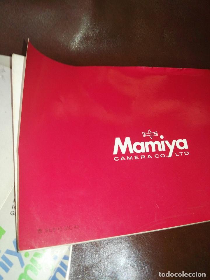 Cámara de fotos: Instrucciones cámara Mamiya M645 - Foto 5 - 176212027