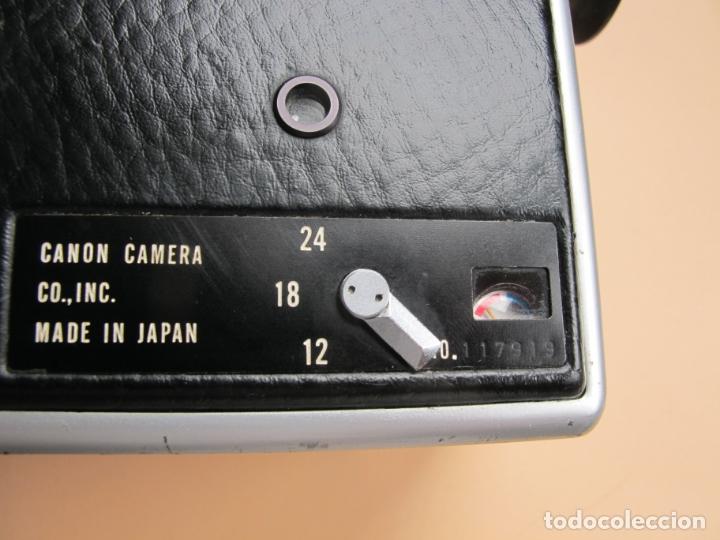 Cámara de fotos: CAMARA DE CINE EN FORMATO SUPER-8 : CANON AUTO ZOOM 814 + ESTUCHE PIEL DE TIPO MALETÍN CON LLAVE - Foto 7 - 176234354