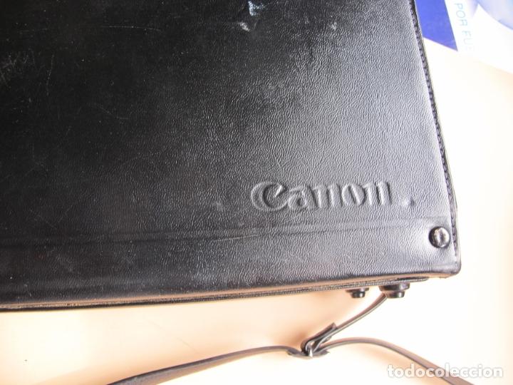 Cámara de fotos: CAMARA DE CINE EN FORMATO SUPER-8 : CANON AUTO ZOOM 814 + ESTUCHE PIEL DE TIPO MALETÍN CON LLAVE - Foto 11 - 176234354