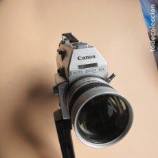 Cámara de fotos: CAMARA DE CINE EN FORMATO SUPER-8 : CANON AUTO ZOOM 814 + ESTUCHE PIEL DE TIPO MALETÍN CON LLAVE. Lote 176234354