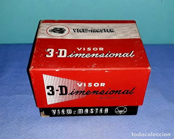 VISOR VIEW-MASTER 3D DIMENSIONAL MODELO E EN MUY BUEN ESTADO VER FOTOS Y DESCRIPCION (Cámaras Fotográficas - Visores Estereoscópicos)