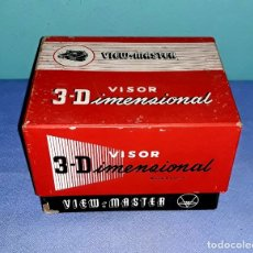 Cámara de fotos: VISOR VIEW-MASTER 3D DIMENSIONAL MODELO E EN MUY BUEN ESTADO VER FOTOS Y DESCRIPCION. Lote 176273144