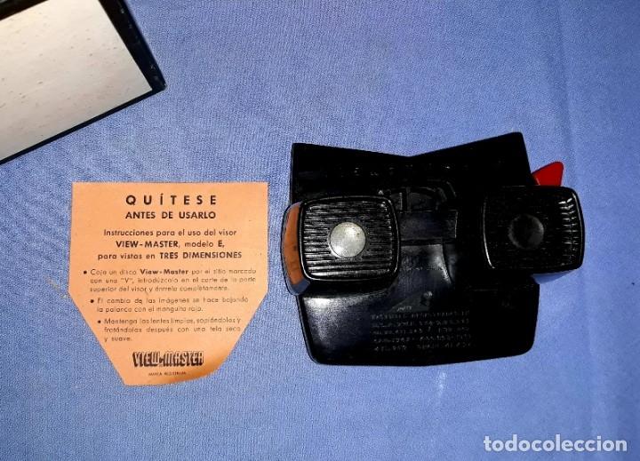 Cámara de fotos: VISOR VIEW-MASTER 3D DIMENSIONAL MODELO E EN MUY BUEN ESTADO VER FOTOS Y DESCRIPCION - Foto 3 - 176273144