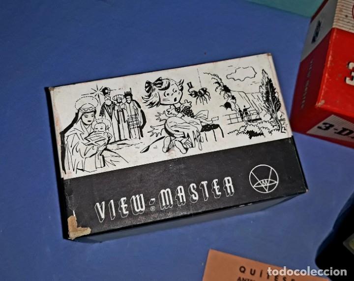 Cámara de fotos: VISOR VIEW-MASTER 3D DIMENSIONAL MODELO E EN MUY BUEN ESTADO VER FOTOS Y DESCRIPCION - Foto 5 - 176273144