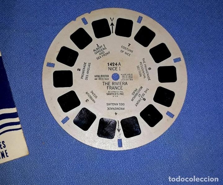 Cámara de fotos: DISCO THE RIVIERA FRANCE VISOR VIEW-MASTER 3D DIMENSIONAL EN MUY BUEN ESTADO VER FOTOS Y DESCRIPCION - Foto 2 - 176273632