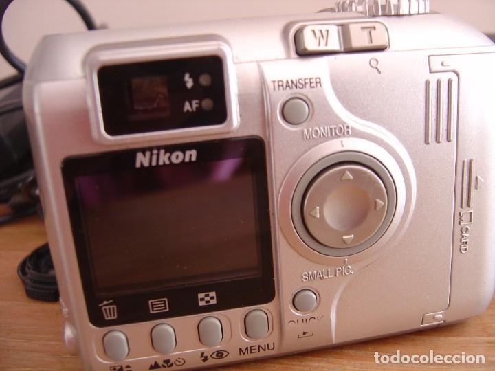 Cámara de fotos: CÁMARA FOTOGRÁFICA NIKON COOLPIX 4300 CON FUNDA Y CARGADOR. - Foto 3 - 176705243